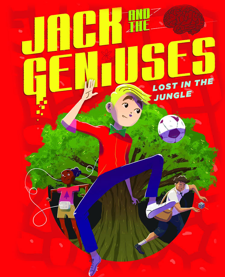 Jack and the Genius book 3
